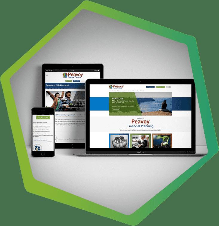 peavoy financial planning redesign portfolio post main image Laois website design