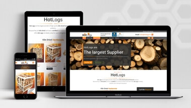 ClearCell Web Design Portlaoise Hot Logs Porfolio Freatured Image