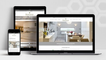 ClearCell Web Design Portlaoise Newhaven Kitchens Porfolio Freatured Image