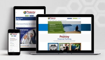 ClearCell Web Design Portlaoise Peavoy Financial Planning Porfoliot Freatured Image