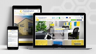 ClearCell Web Design Portlaoise Portarlington Enterprise Centre Porfoliot Freatured Image