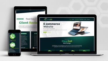 ClearCell Web Design Portlaoise ClearCell Web Design Portfolio Featured Image