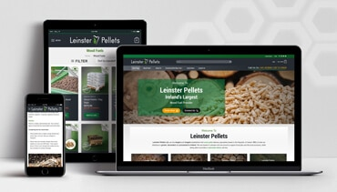 ClearCell Web Design Portlaoise Leinster Pellets Portfolio Featured Image