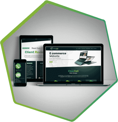 ClearCell redesign portfolio post main image laois website design