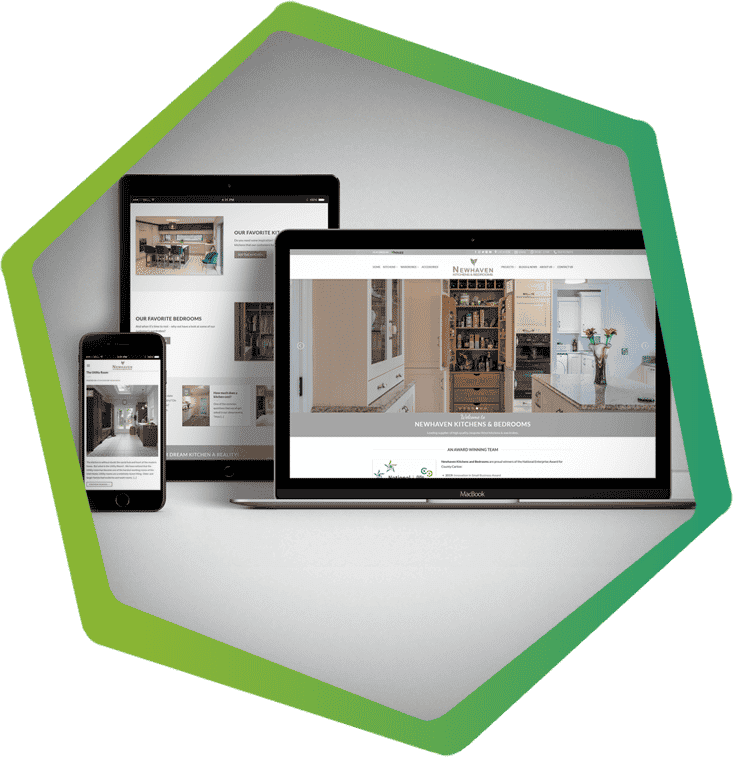 newhaven kitchens portfolio post main image Carlow website design clearcell web design