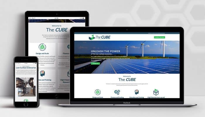 ClearCell Web Design Portlaoise The Cube Portfolio Featured Image